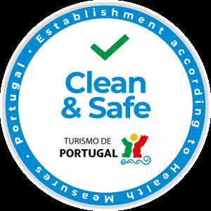 Clean & Safe logo Centro Aventura